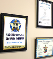 About Anderson Lock And Security Surfside Beach SC